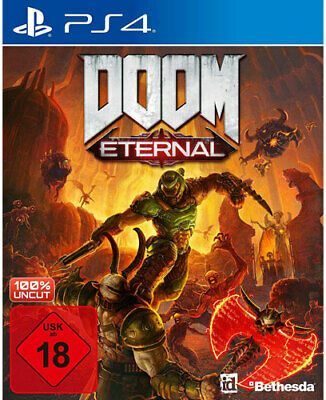 Doom Eternal (PS4 PlayStation 4) (NEU & OVP) (UNCUT) (Blitzversand)