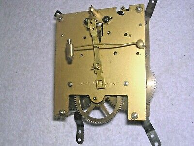 Clock  Parts , Brass   Movement , Spares Or  Repair
