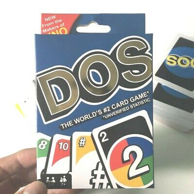 Dos Wild Card Mattel UNO New Makers With Sealed Box UK Family Friends Game Fun