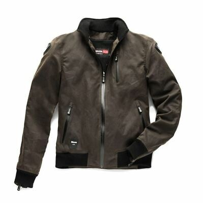 Blauer Indirect Waxed Cotton Brown Motorcycle Jacket *FREE UK DELIVERY*
