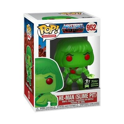 Funko Pop! 2020 ECCC OFFICIAL CON STICKER He-Man Slime Pit MOTU Preorder