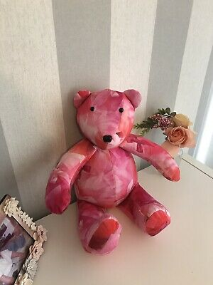 Ted Baker Pink Bow Print Bear Girls