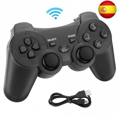 Powcan Mando Inalámbrico PS3, Bluetooth PS3 Gamepad Controller Doble vibración M
