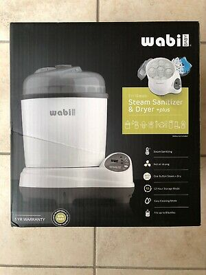 Wabi Baby Plus 3-in-1 Electric Baby Bottle Steam Sterilizer /& Dryer NEW