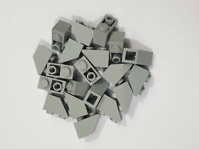 99207 LEGO Bracket 1 x 2-2 x 2 Inverted H81 LIGHT BLUISH GREY x 8