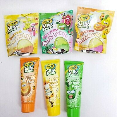 Crayola Silly Scents Bathtub Finger Paint Soap or Bath Bombs