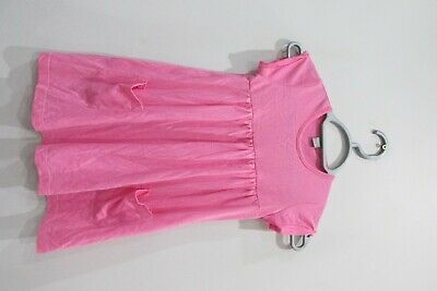 Girls Pink TU Sainsburys Dress Size 7 Years Good Condition