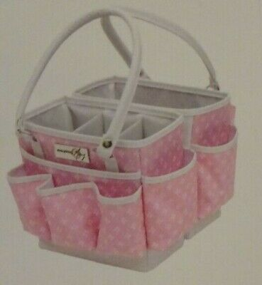 Everything Mary Pink Star Fold-Open Square Organizer