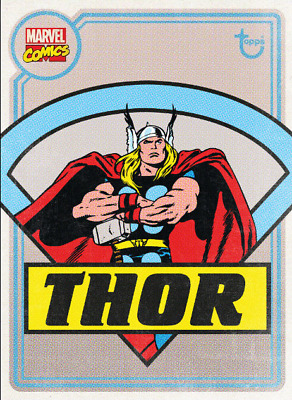 2020 OLD SCHOOL THOR Topps Marvel Collect