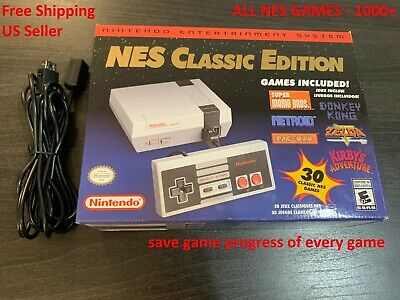 1000 Games Genuine Nintendo Classic Edition Complete NES Library Quick Reset New