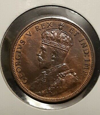 1911 Canada Large Cent High Grade *Free Shipping *.
