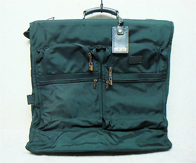 TUMI - Garment Bag / Travel bag - Green Ballistic Nylon