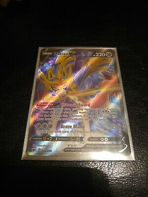 Pokemon TCG Sword and Shield Zacian V Full Art REPACK Please read