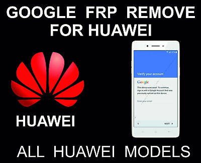 Huawei Google Account Remove Frp Unlock Key Code By Sn