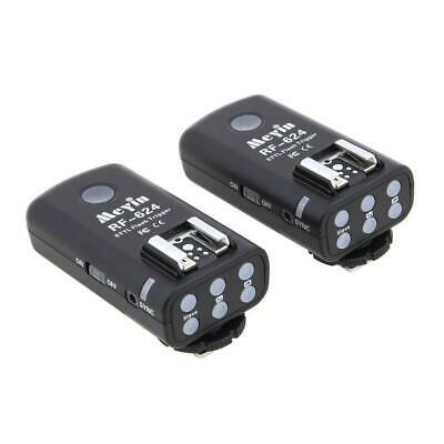 Meyin Flash Remote HSS Transreceiver Triggers for Canon RF-624 (Pair)