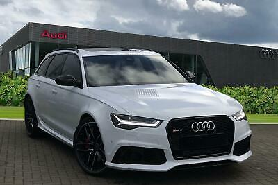 2015 Audi A6 RS 6 Avant  4.0 TFSI quattro 560 PS tiptronic 8 speed Petrol white