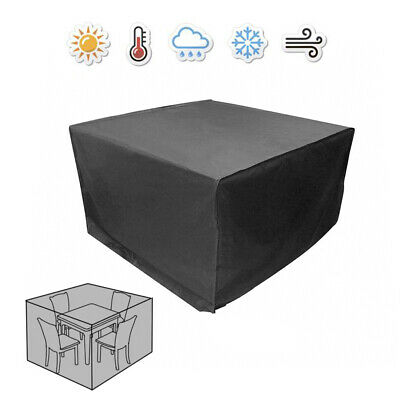 Waterproof Garden Patio Furniture Cover for Rattan Table Square Cube Outdoor