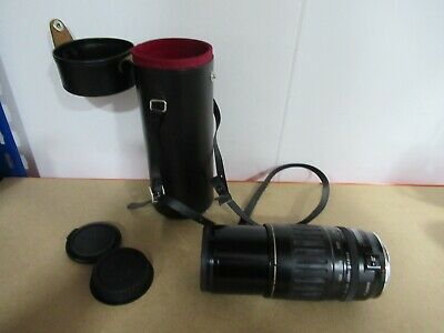 Canon Lens 100-300mm Ultrasonic With Tamron Case 80-250 Adaptall