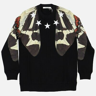 Givenchy Butterfly and Stars Print Sweatshirt | Size S Relaxed SS15 RRP $1380