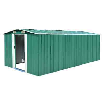 Large Metal Garden Shed Bike Unit Storage Workshop Building Tools Box Container