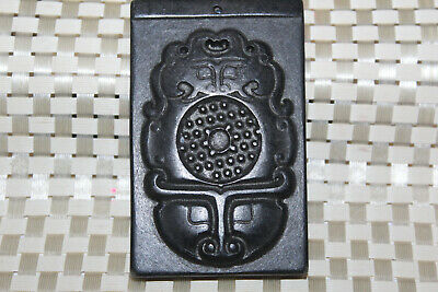 Hongshan Culture Old Jade Amulet Pendant Hand Carved by Chinese Master