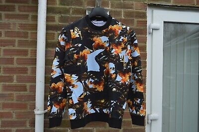 Givenchy Monkey Rooster Print Sweatshirt | Size XS Cuban SS16 RRP £595