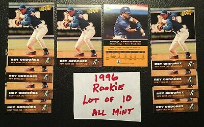 1996 All Sport PPF Rey Ordonez Rookie Lot of 10 New York Mets #60 Free Shipping