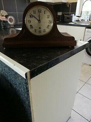 German Mantel Clock  Westminster Chime