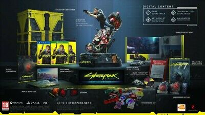 Cyberpunk 2077 collectors edition Ps4 pre order 17th Sept last one available
