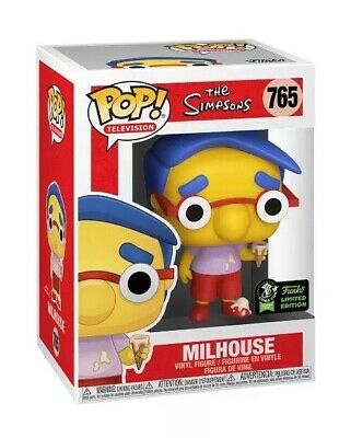 FUNKO POP! Milhouse The Simpsons ECCC SHARED EXCLUSIVE PREORDER