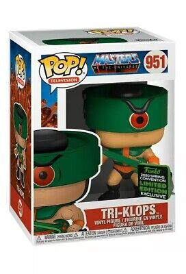 FUNKO POP! Tri-Klops Masters of the Universe ECCC SHARED EXCLUSIVE