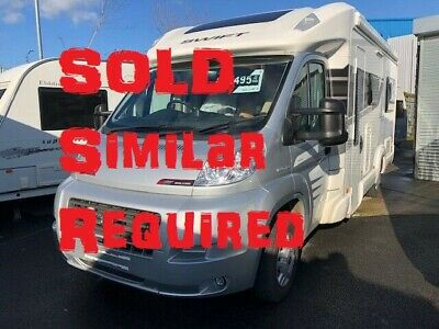 2020 Swift Bolero 630PR - 2 berth motorhome, awning, reversing camera, alde
