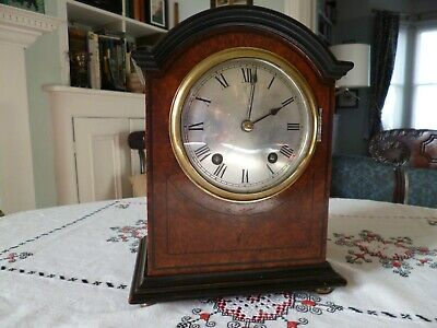 Winterhalder and Hofmeier W&H ting tang bracket mantel clock