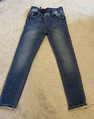 Boys Next Skinny Jeans Age 11 Years Elasticated Waist