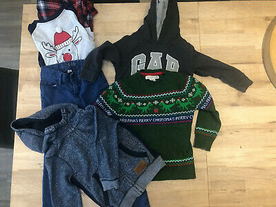 Boys Age 4-5 Years Clothes Bundle Jeans T-shirts Tops H&M/gap/George