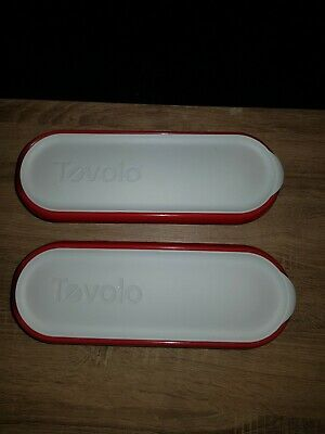 TOVOLO Glide-a-scoop insulated Ice Cream Containers. 1.4ltr X2