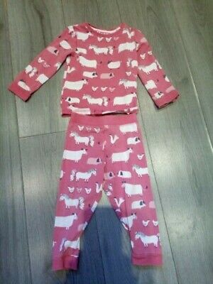 !!Girls Age 18-24 Months Pyjama Set M&S!!