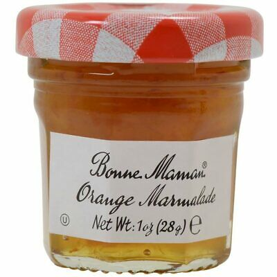 15 x Bonne Maman Marmalade 28g Mini Small Jar, Portion Ttray