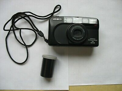 Minolta 35mm Camera Lot Of 2 Orion Freedom Zoom /& Freedom Action Zoom W//New Batt