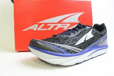 Altra Torin IQ Black/Blue and Gray/Yellow Men's Road Running Shoe