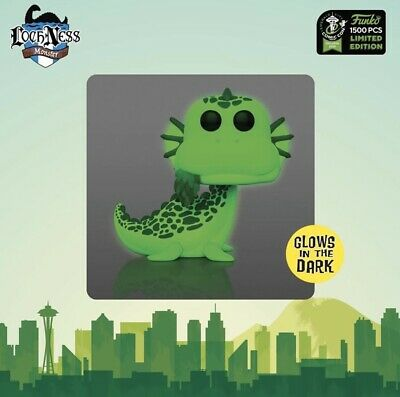 Funko Pop 2020 ECCC Myths Loch Ness Monster LE1500 Official Con Sticker Preorder