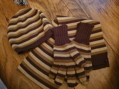 Boys Hat Scarf And Gloves Set Aged 4-6 Years