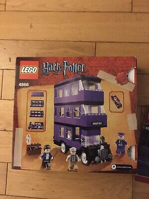 LEGO Harry Potter The Knight Bus 4866 100% complete box & instructions Used