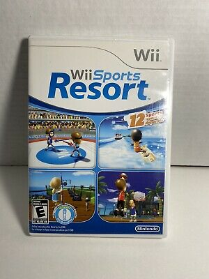 Wii Sports Resort (Nintendo Wii) Complete in Case - Tested Working - Free Ship