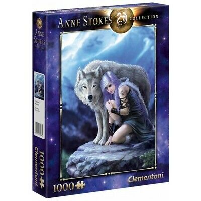 PUZZLE 1000 pzs Anne Stokes Collection: PROTECTOR - Clementoni 39465