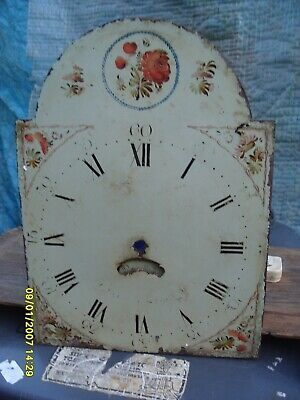 Grandfather Clock Front Dial Solid Metal