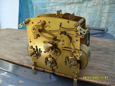 Clock Parts Perivale Westminster Movement  Spares Repair