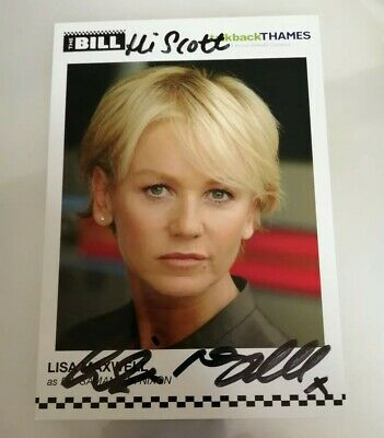 The Bill Lisa Maxwell Signed Promotional Card