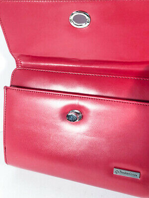 COMPACT Version | Stunning Red Franklin Covey Day Timer - Zipper / Twist Shut