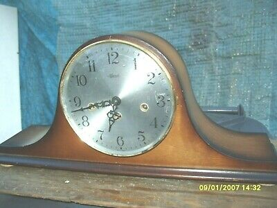 Mantel Clock  Hermle Westminster Striking Floating  Balance  Movement